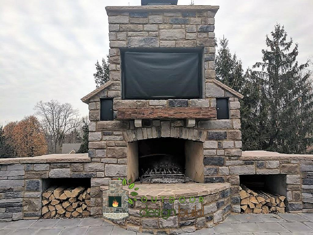 Fireplace Outdoors