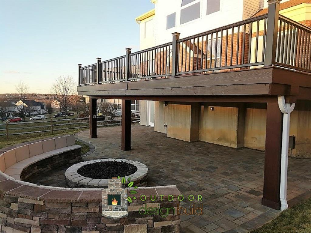 Cincinnati Deck with Firepit