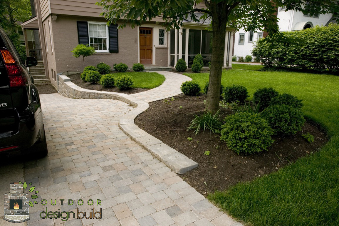 Paver Walkway and Driveway