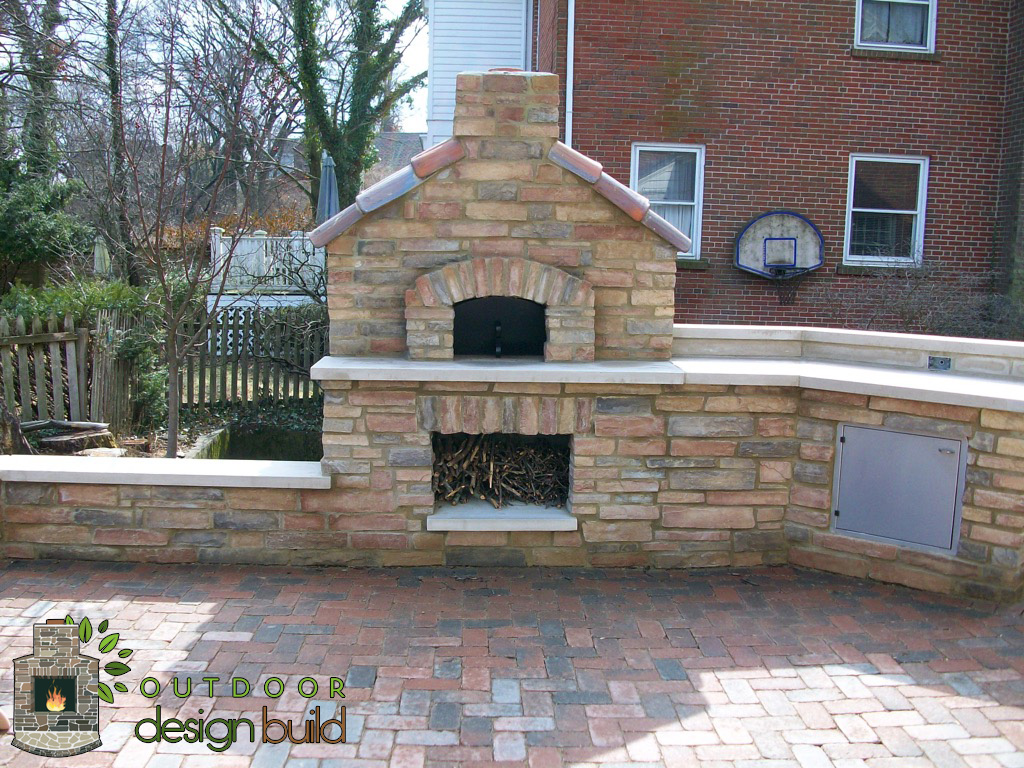 Custom Pizza Oven