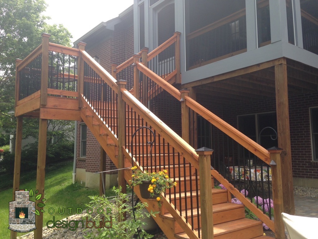 Staircase to Deck