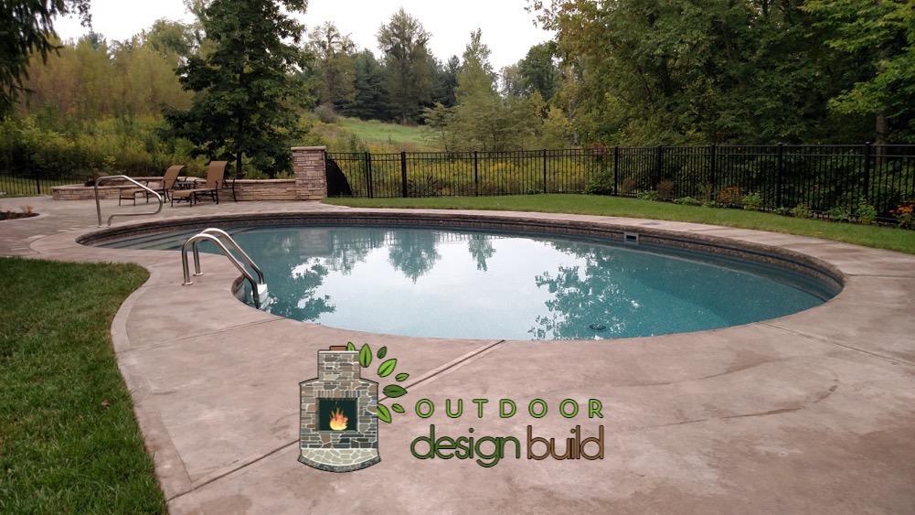 Cincinnati Custom Swimming Pool