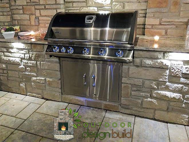Custom grill station Cincinnati