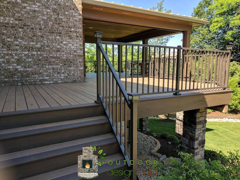 Composite Deck and Stairs
