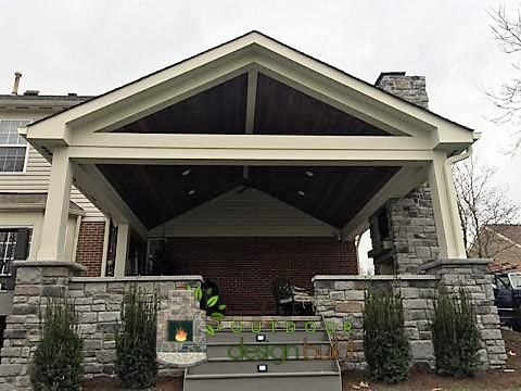 Cincinnati Outdoor Living with Covered Porch