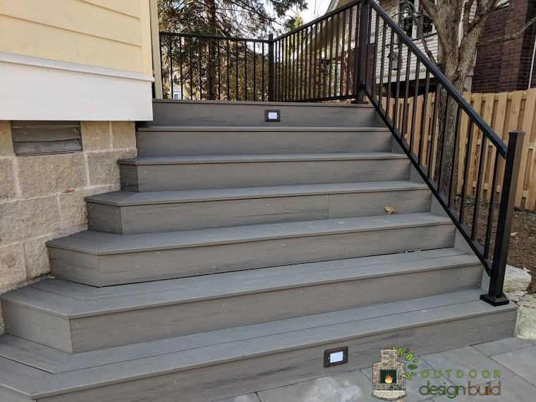 Stairs with Railing