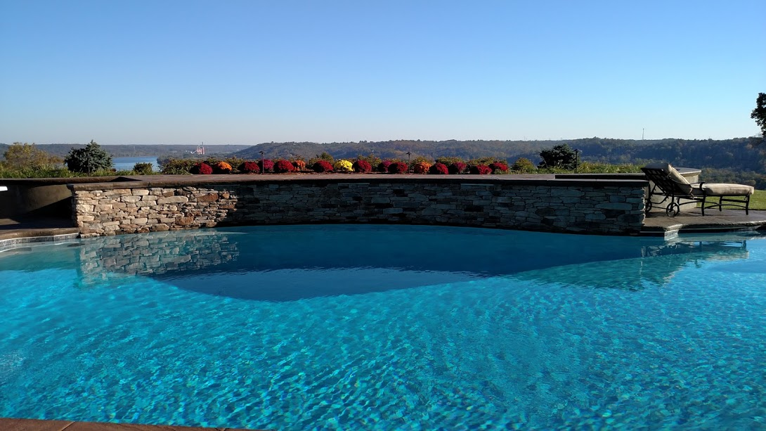 Custom Swimming Pool with View