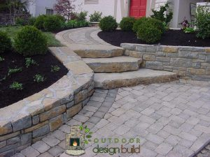 stairs and front walkway
