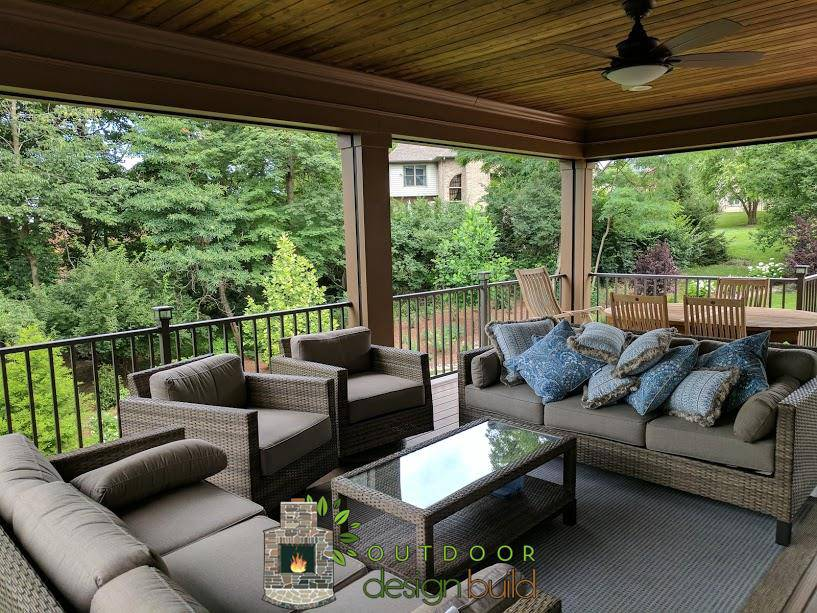 Deck with Roof Structure