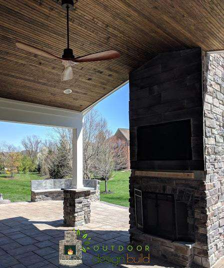 Fireplace Outside