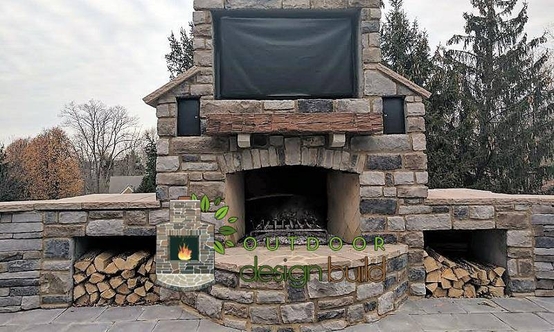 Outdoor Fireplace, Outdoor Fireplace Pictures